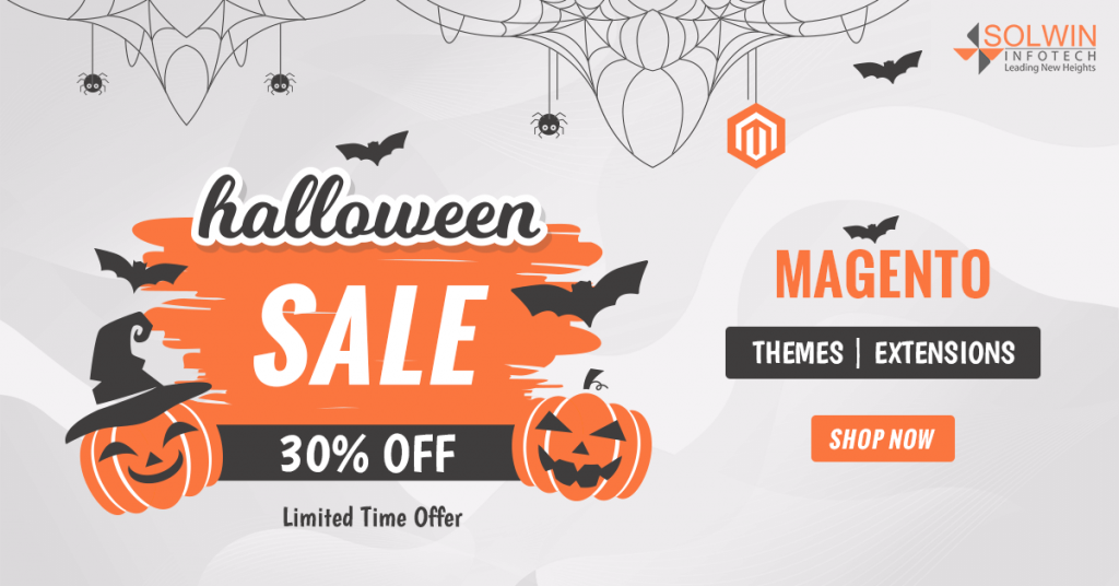 Halloween Sale 2019 - Magento 2 Extensions & Themes - Solwin Infotech