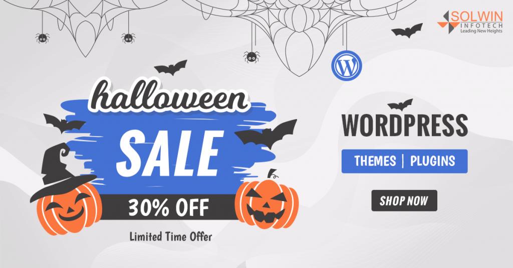 Halloween Sale 2019 - WordPress Plugins & Themes - Solwin Infotech