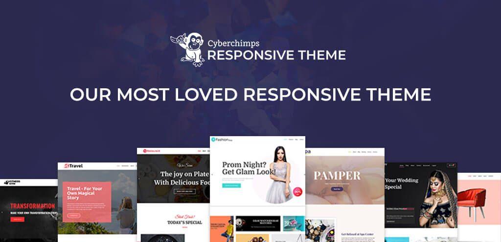 CyberChimpsResponsive - Shachi Arkatkar