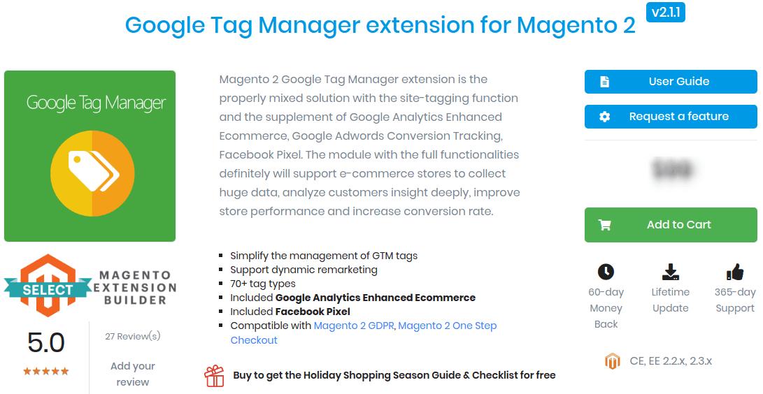 Magento Google Tag Manager
