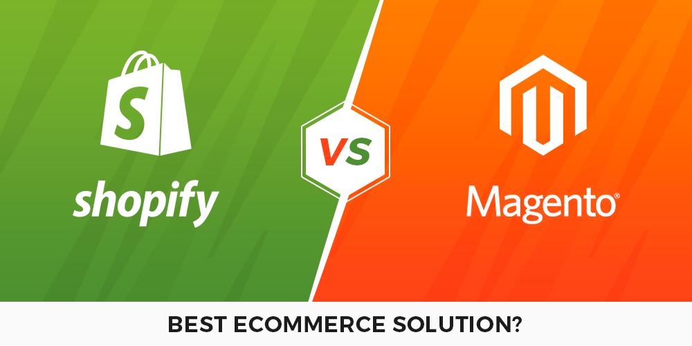 Shopify vs Magento