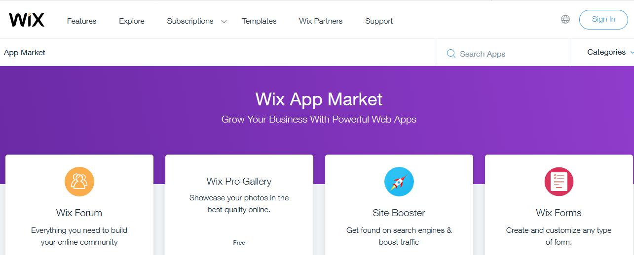 Wix - Customization
