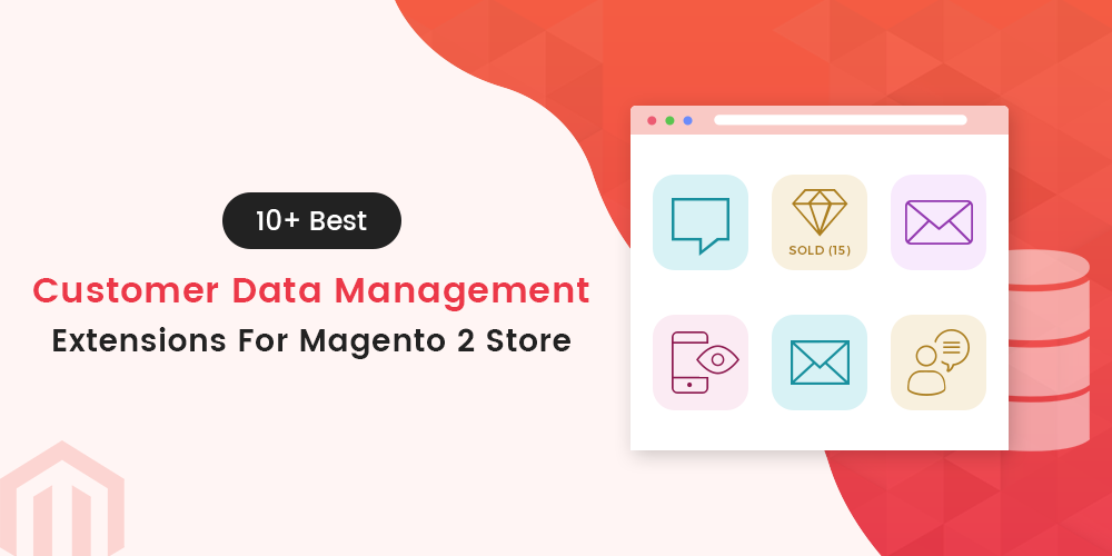 Customer data management Magento 2 extensions