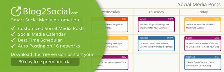 Blog2Social WordPress Plugin