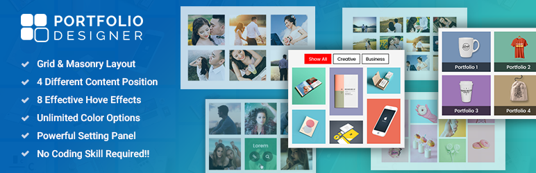 Portfolio Designer Lite WordPress Plugin