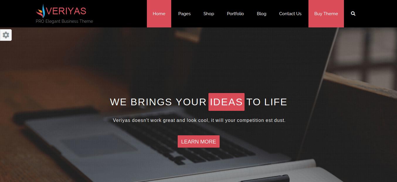 Veriyas Pro WordPress Theme