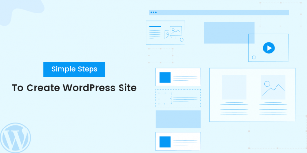 simple steps to create WordPress site