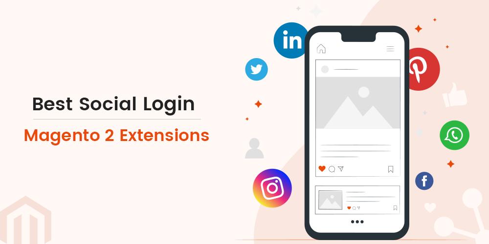 Social media Magento 2 extensions
