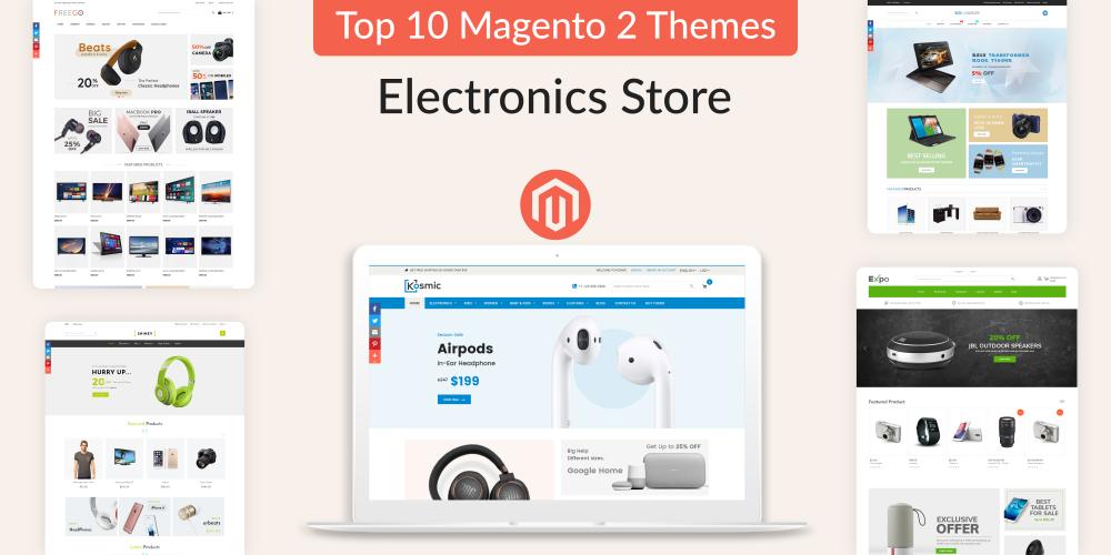 Top Magento 2 Electronics Themes