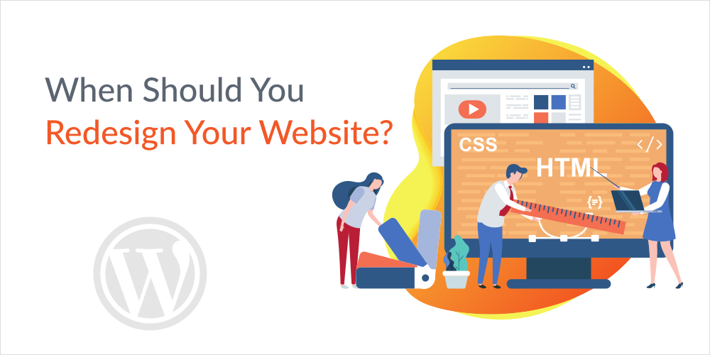 when should you redesign a website