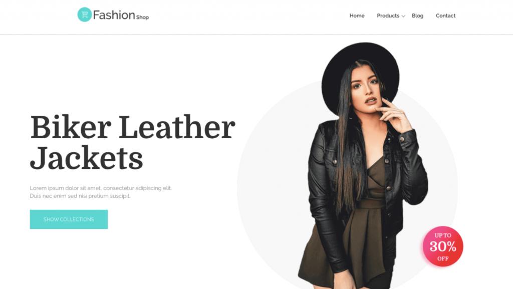 FashionShop WordPress Theme