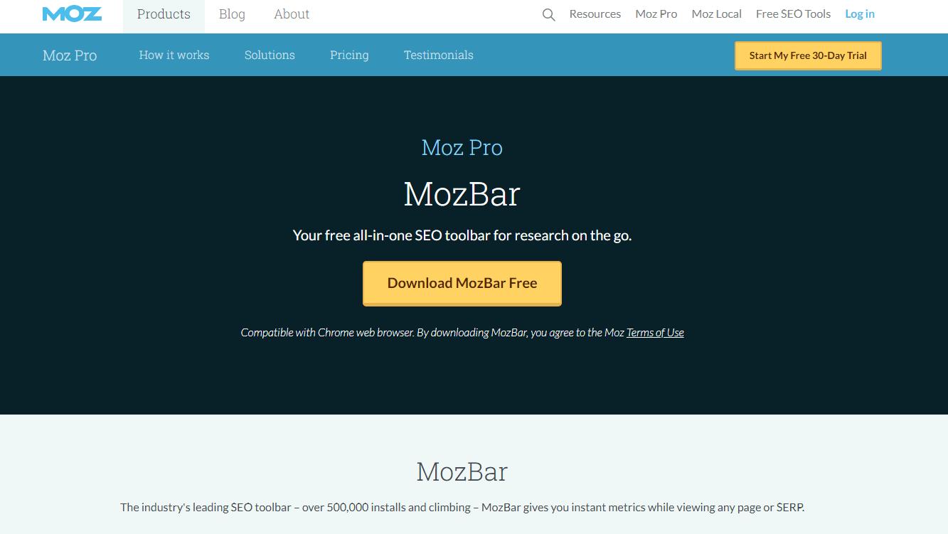 MozBar