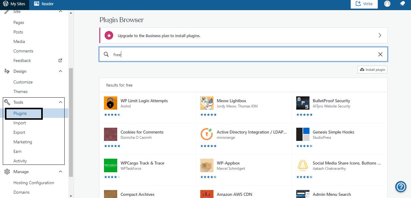 Select Free Plugin