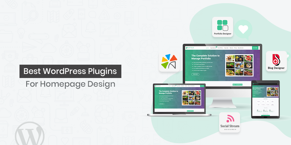 Homepage Design WordPress Plugins