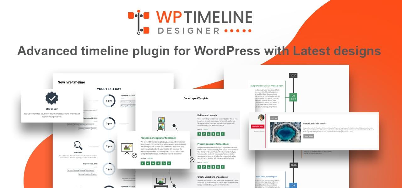 WP Timeline Designer Pro