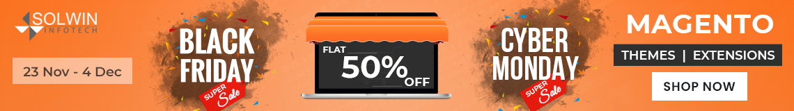 50% discount on all products
