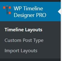 Timeline layouts